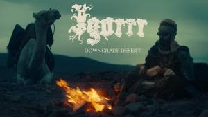 Igorrr partage un clip vidéo pour Downgrade Desert !