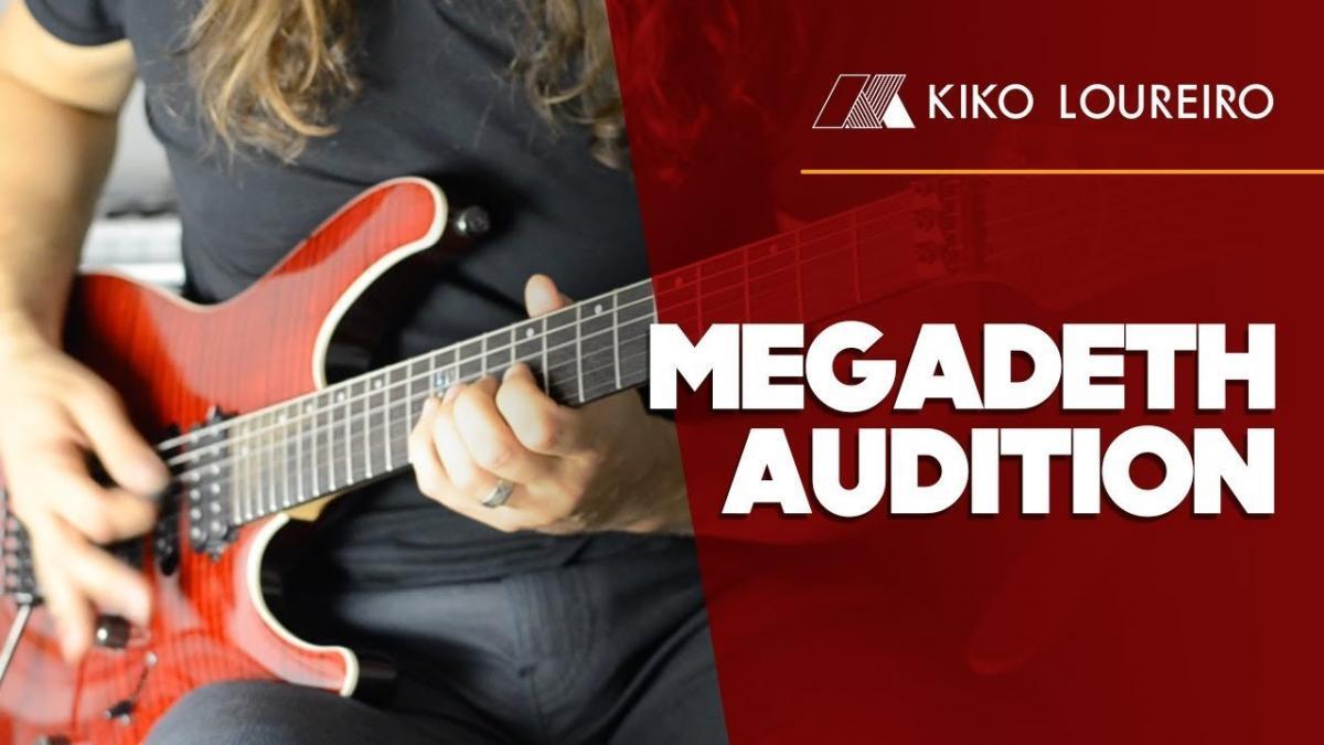 Regardez l'audition de Kiko Loureiro pour entrer dans Megadeth !