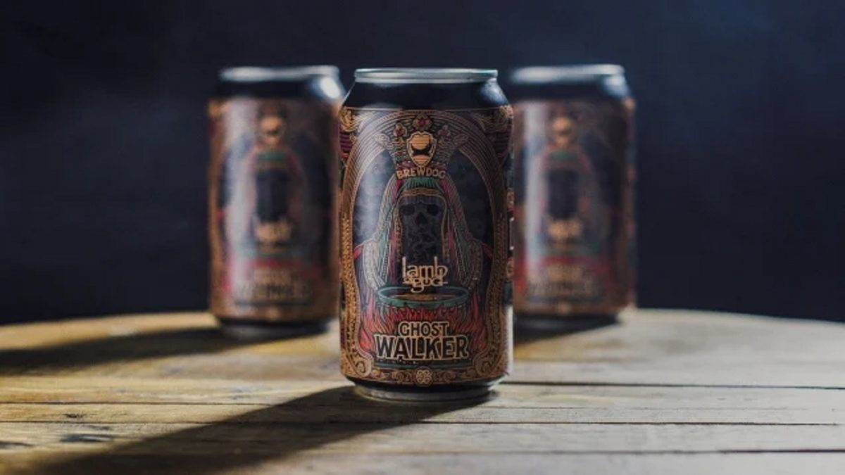 Lamb Of God sort une bière sans alcool, Ghost Walker