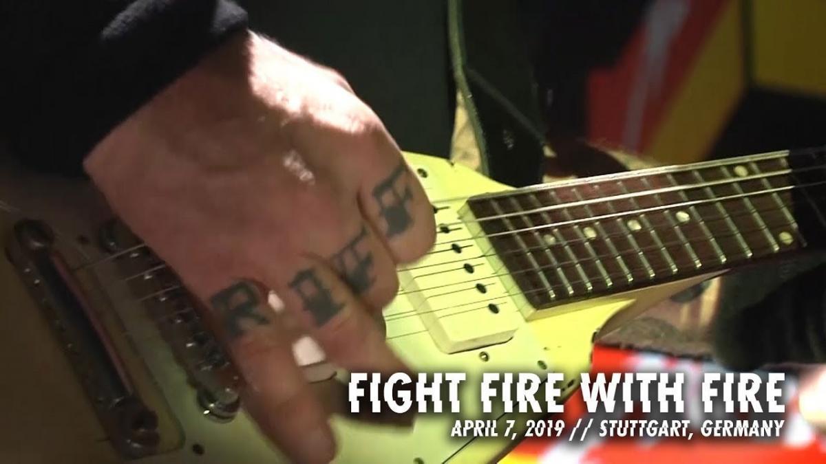 Metallica publie une vidéo live de Fight Fire With Fire à Stuttgart