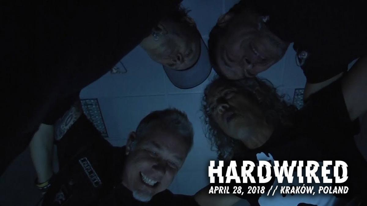 Metallica sort une vidéo live de Hardwired à Cracovie