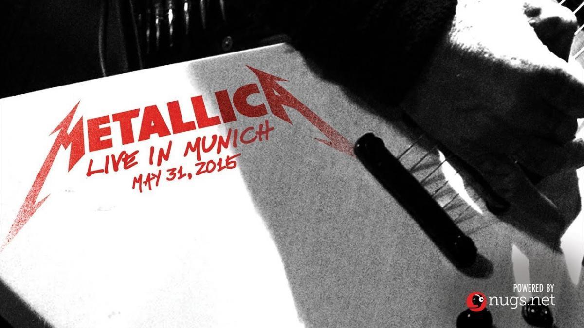 Metallica va diffuser son concert de 2015 à Munich cette nuit ! (#MetallicaMondays)