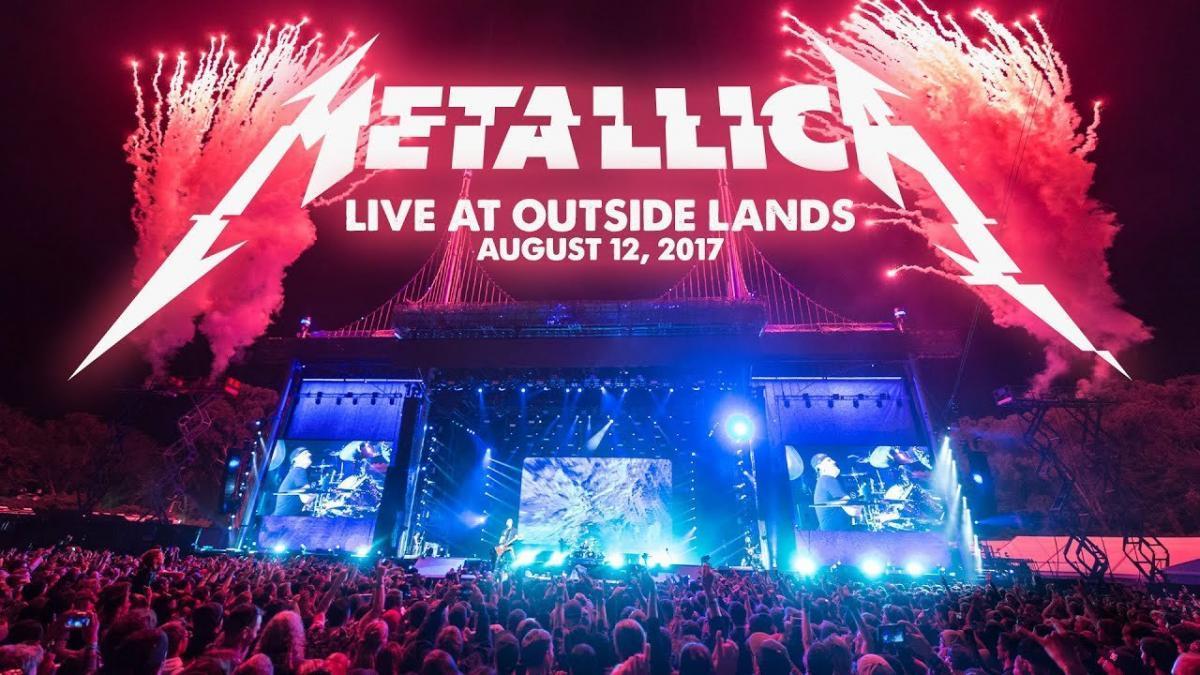 Metallica va diffuser son concert au Outside Lands Music & Arts Festival 2017 cette nuit ! (#MetallicaMondays)