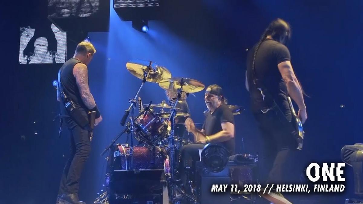 Metallica sort une vidéo live de One à Helsinki