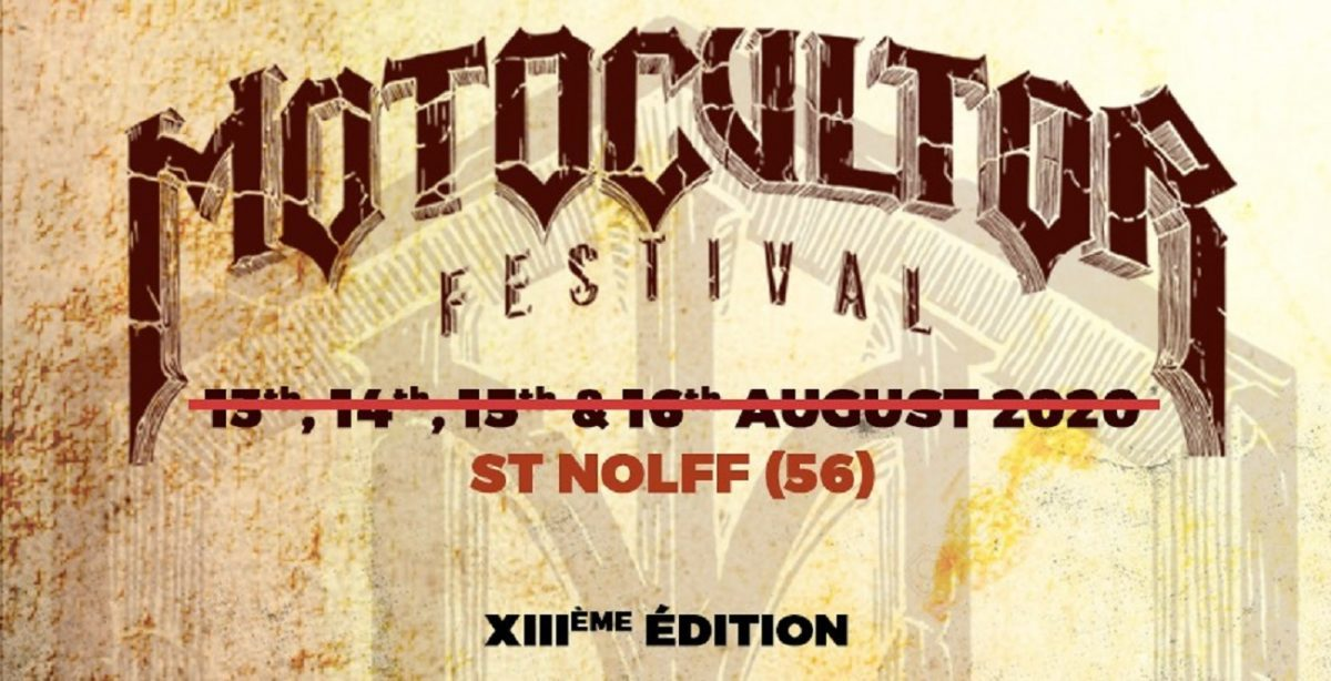 Le Motocultor Festival reporte son édition de cette année à 2021
