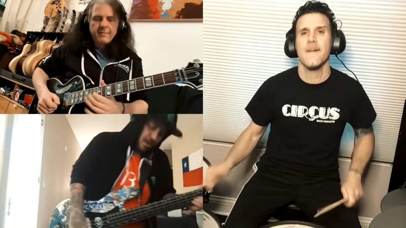 Des membres de Testament, Anthrax et Suicidal Tendencies font une reprise de Rush pendant la quarantaine (Vidéo) - MetalZone