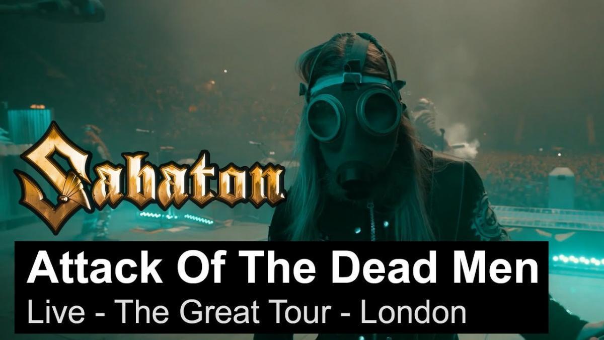 Sabaton publie une vidéo live de The Attack Of The Dead Men à Londres