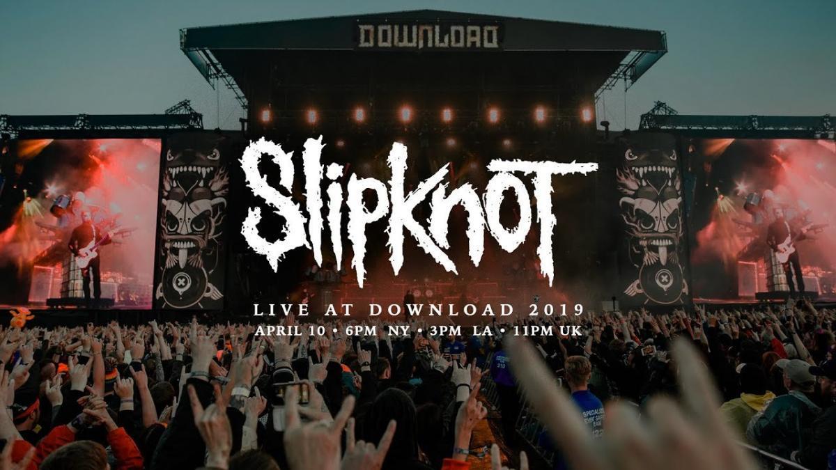 Slipknot va diffuser son live au Download Festival 2019 ce soir à minuit !