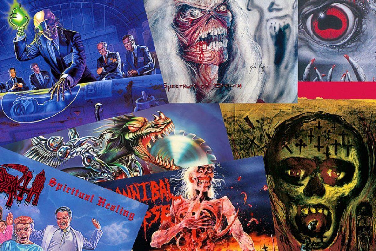 Les 40 meilleurs albums Metal de 1990