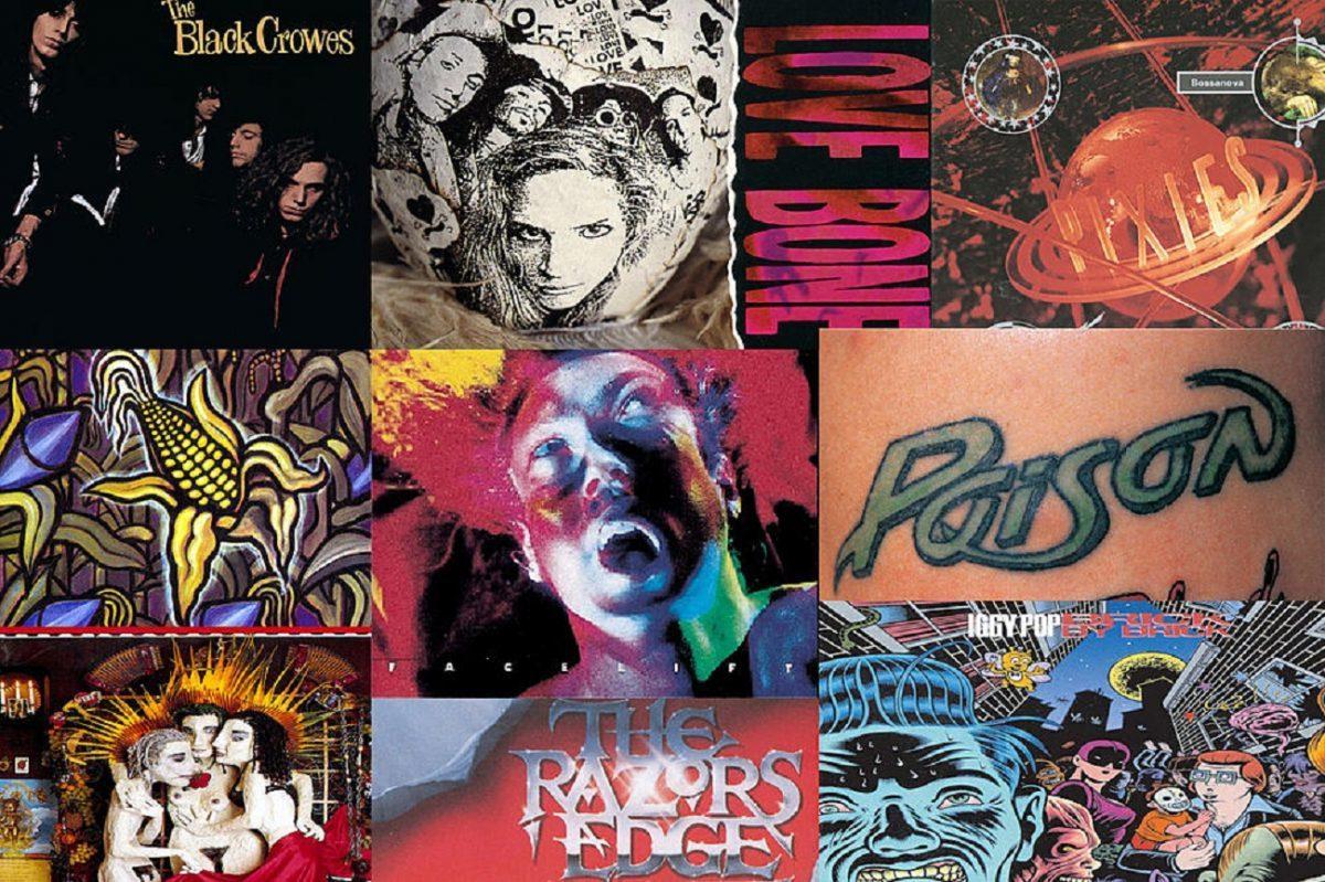 Les 25 meilleurs albums Rock de 1990