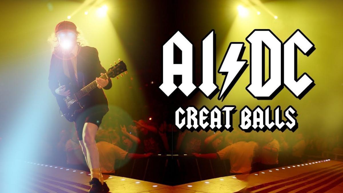 Un homme a écrit une chanson de AC/DC avec l'aide d'une intelligence artificielle, Great Balls