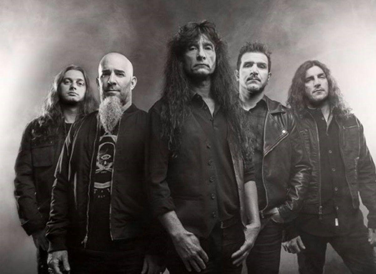 """Anthrax a écrit """"six ou sept chansons"""" pour son nouvel album"""