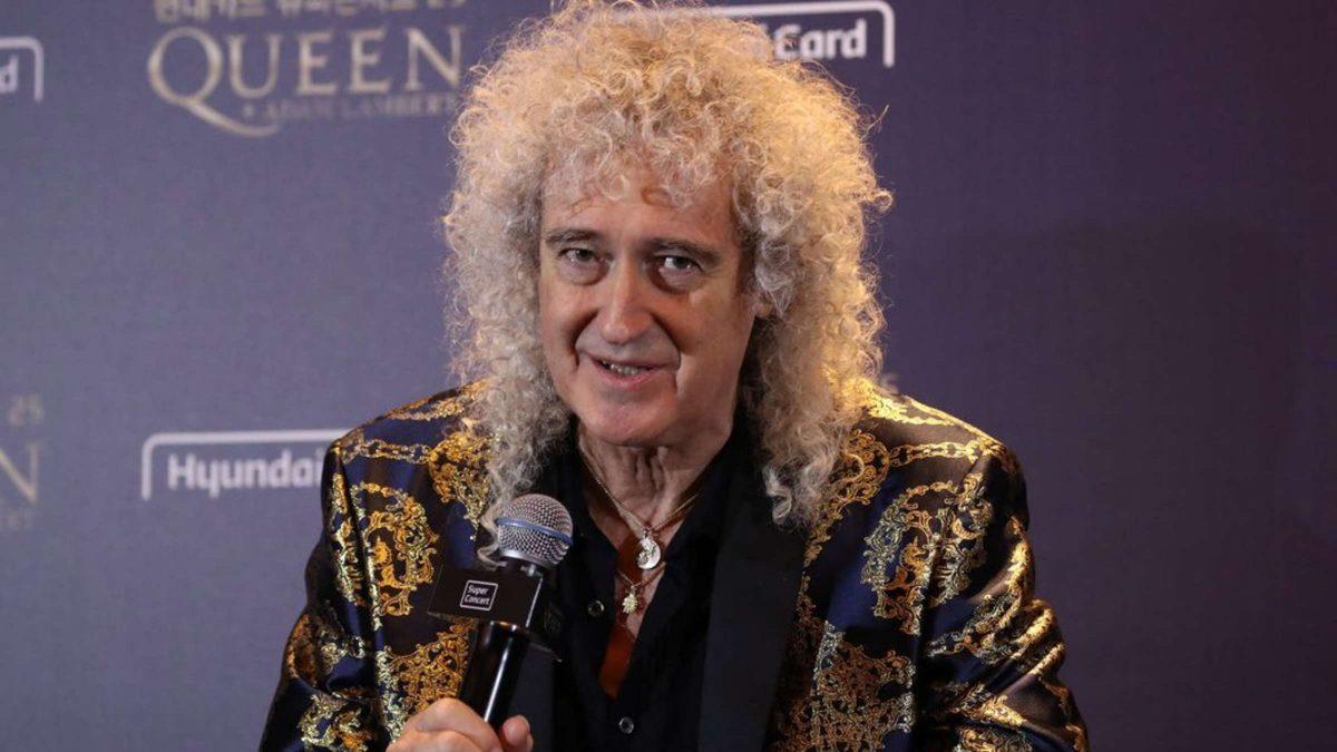 "Brian May de Queen : ""J'ai eu une petite crise cardiaque"""