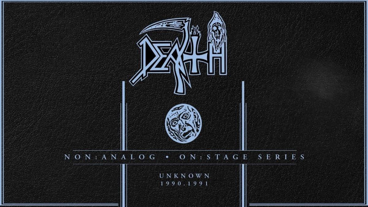 Écoutez des extraits live inédits de Death en 1990 et 1991 !