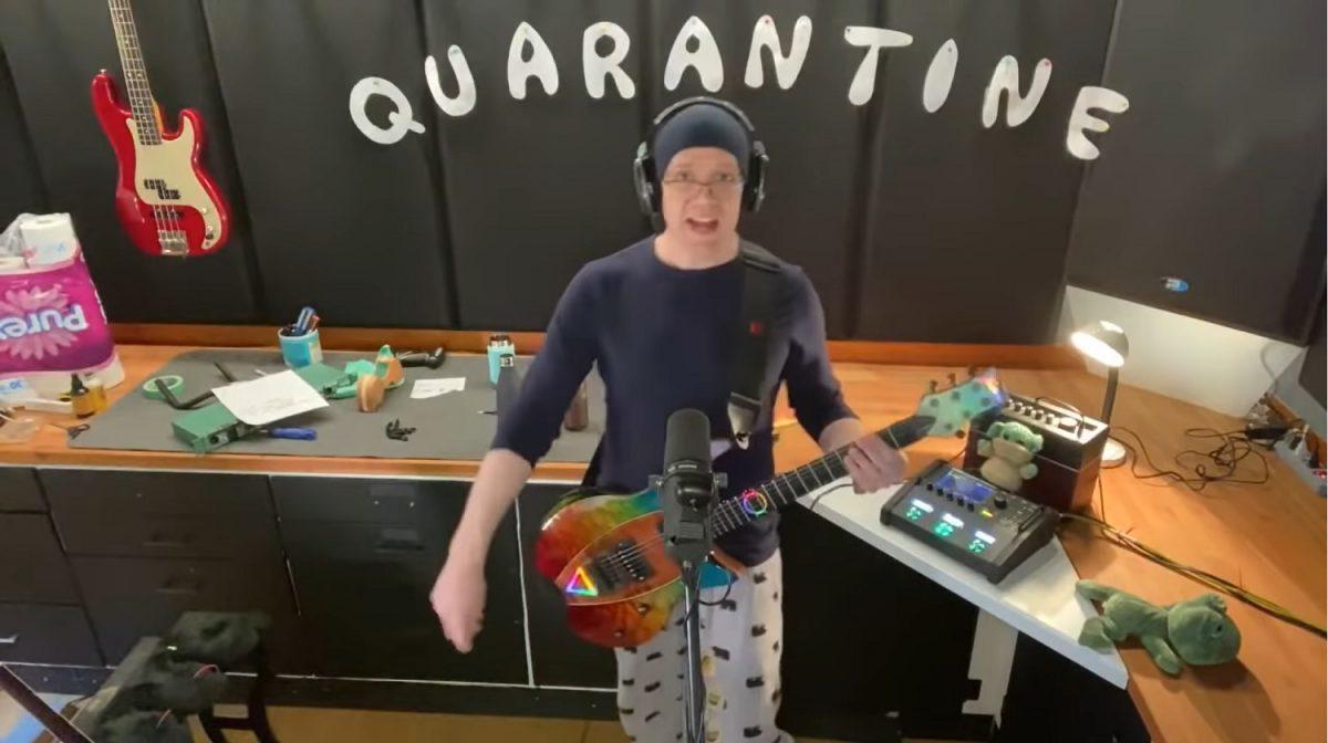Devin Townsend partage la vidéo de son dernier concert de bienfaisance !