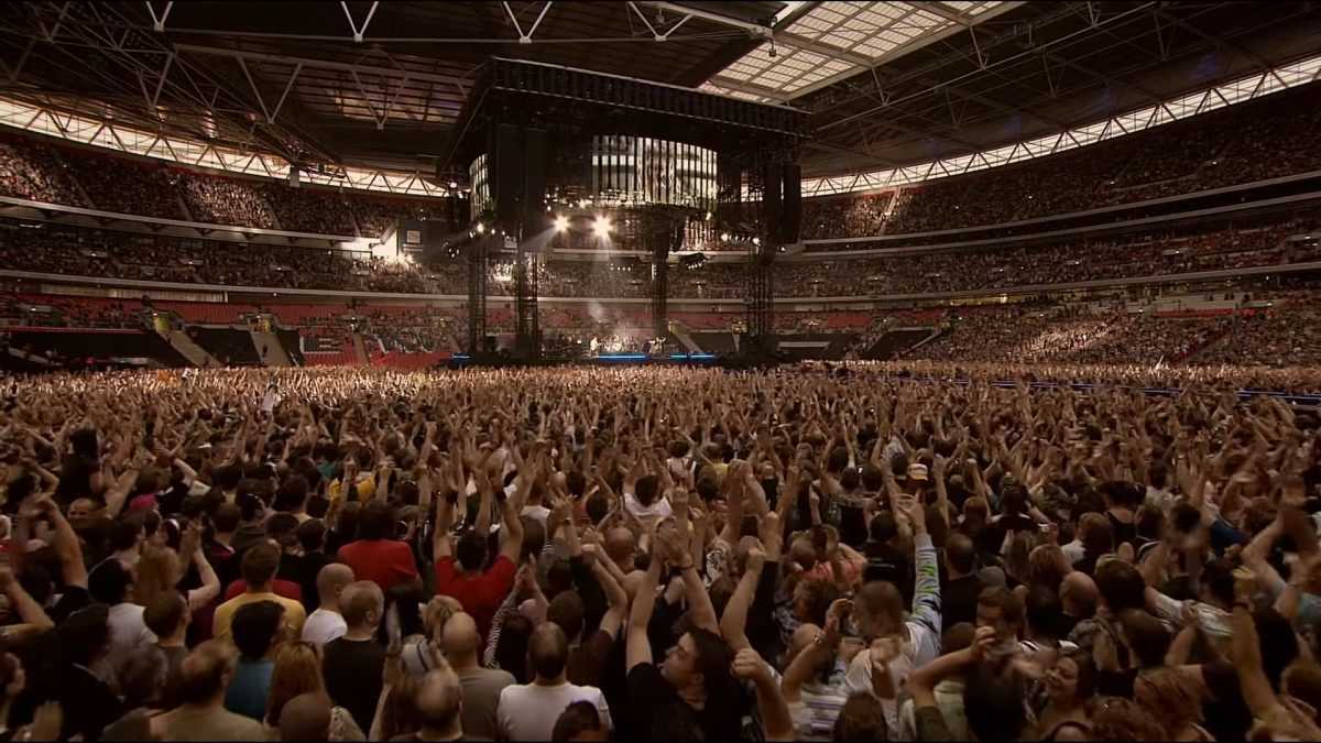 Foo Fighters publie l'intégralité de son concert au Wembley Stadium !
