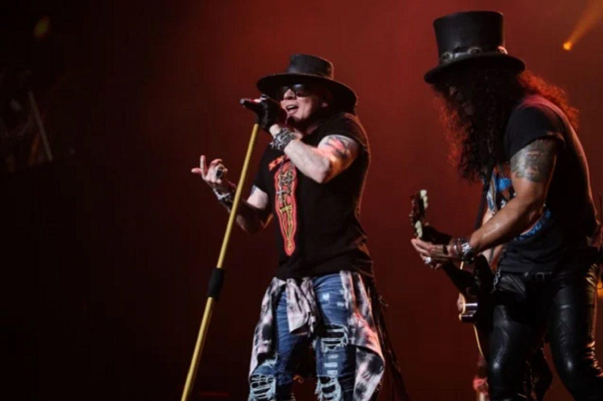 Regardez Guns N' Roses jouer à Mexico et à Houston en 2016
