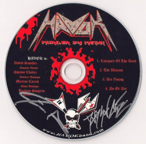 Murder By Metal (Demo)