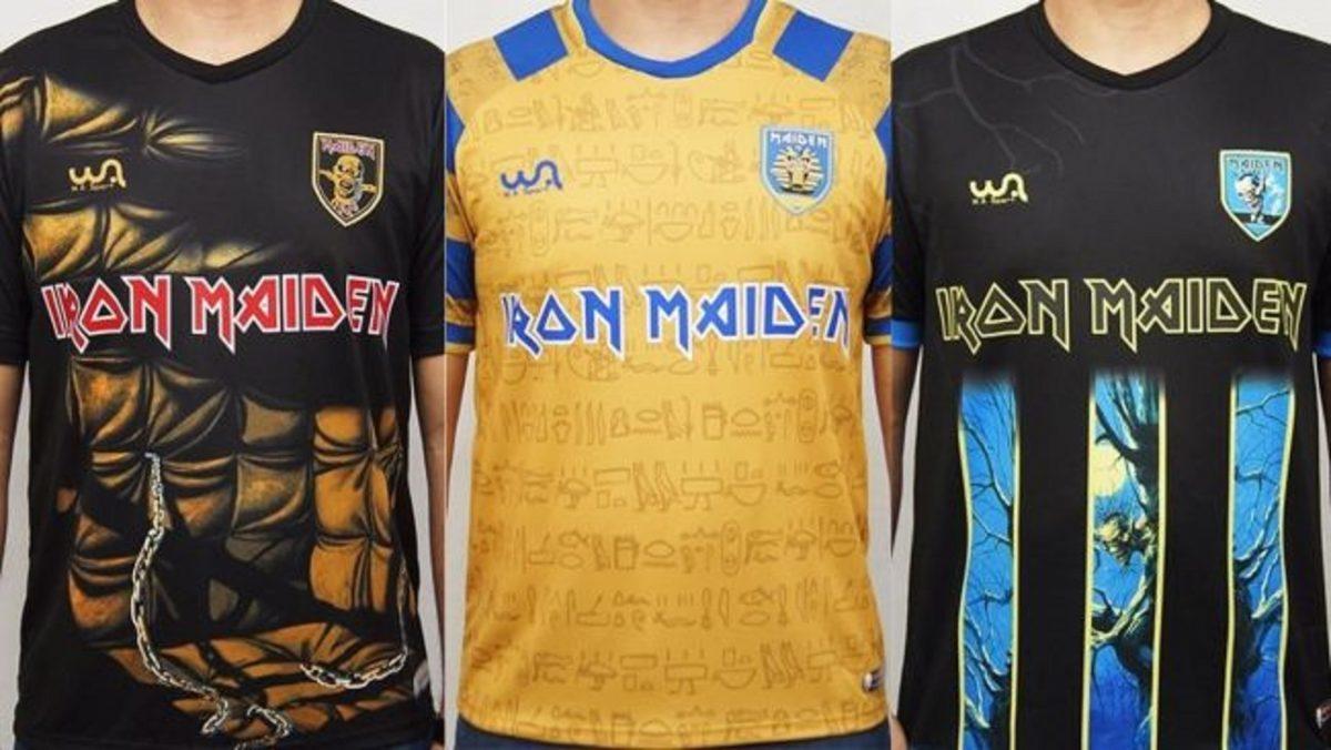 Iron Maiden lance une nouvelle gamme de maillots de football