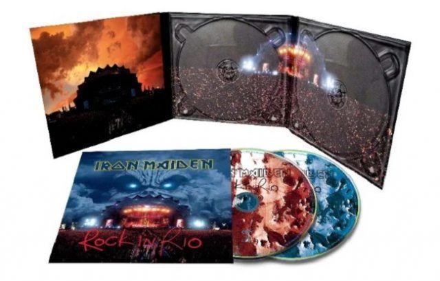 Iron Maiden annonce une collection de concerts remasterisés (Live After Death + Rock In Rio)