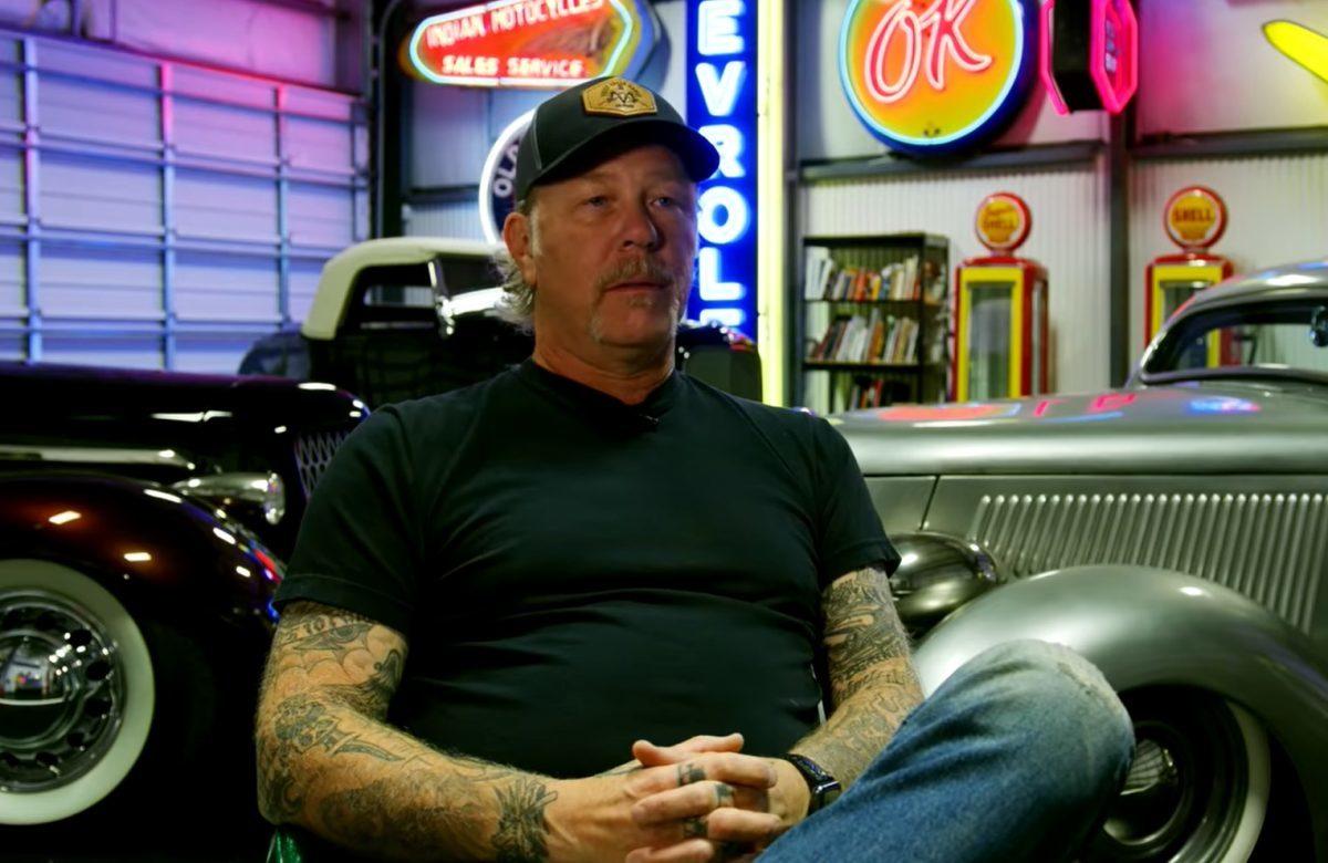 James Hetfield de Metallica parle de sa collection de voitures dans une nouvelle vidéo