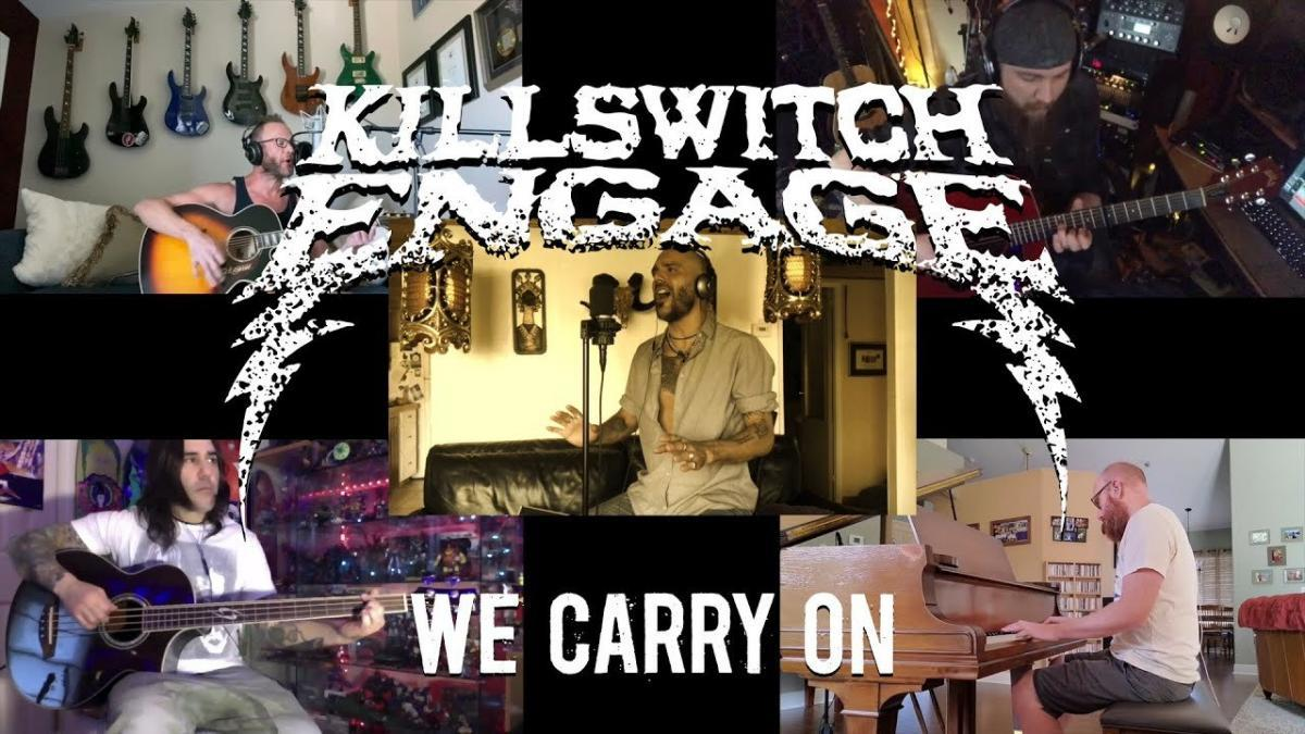 Regardez Killswitch Engage jouer une version acoustique de We Carry On !