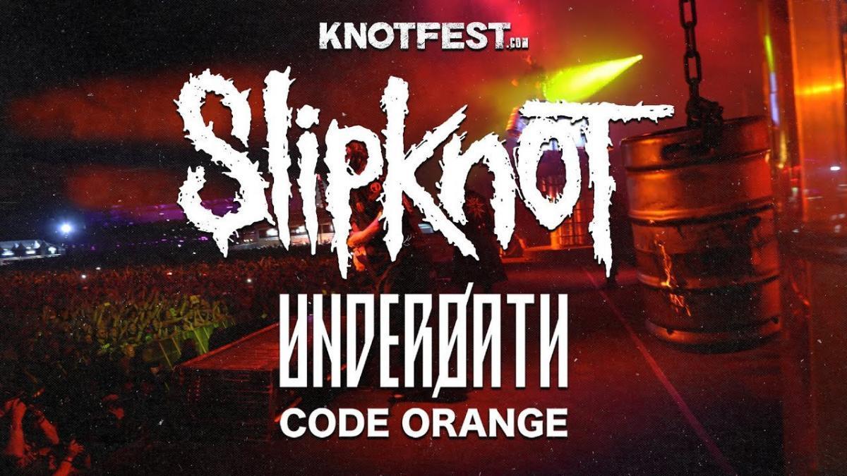 Regardez les concerts de Slipknot, Underoath & Code Orange diffusés hier soir !