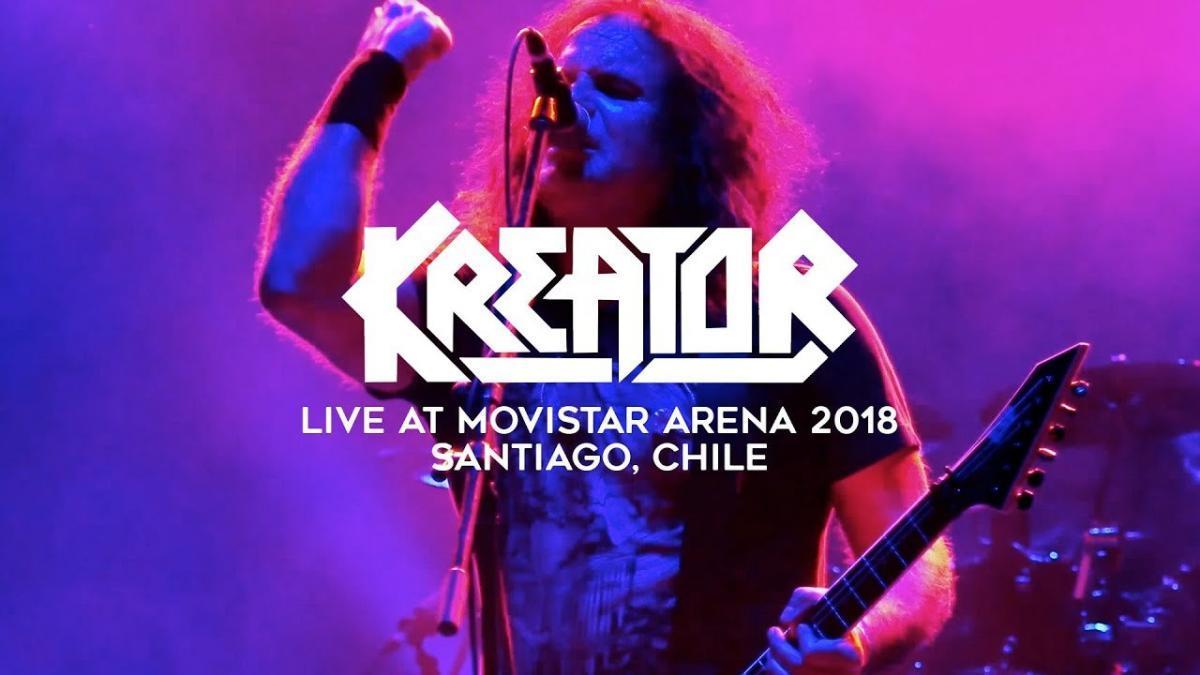 Regardez Kreator jouer au Chili ! (concert complet)