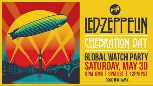 Led Zeppelin va diffuser Celebration Day sur YouTube