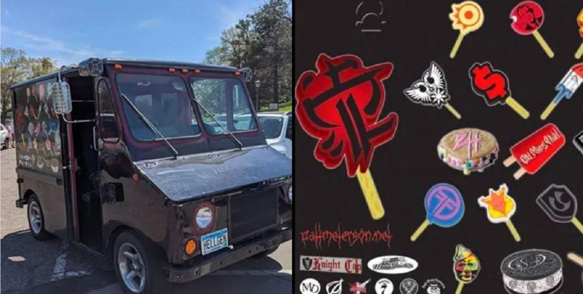 Des enfants courent vers un camion en s'attendant à manger une glace, mais ils se font exploser les oreilles avec du Death Metal