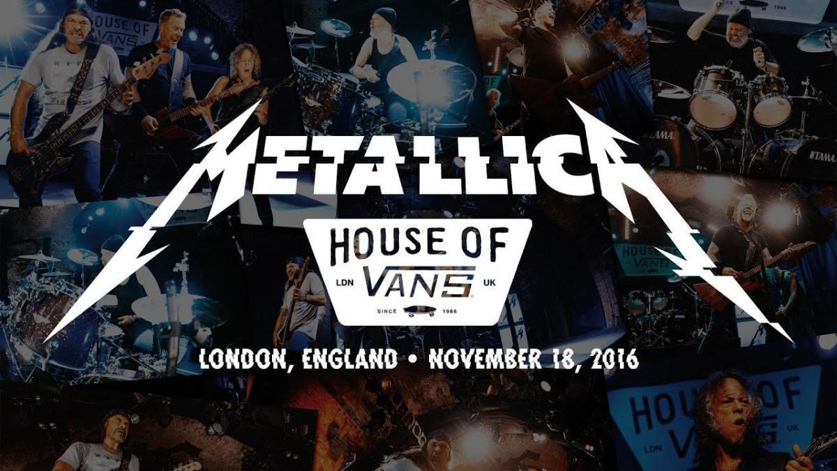 """Metallica va diffuser un concert """"chaud et transpirant en direct de Londres"""" cette nuit ! (#MetallicaMondays)"""
