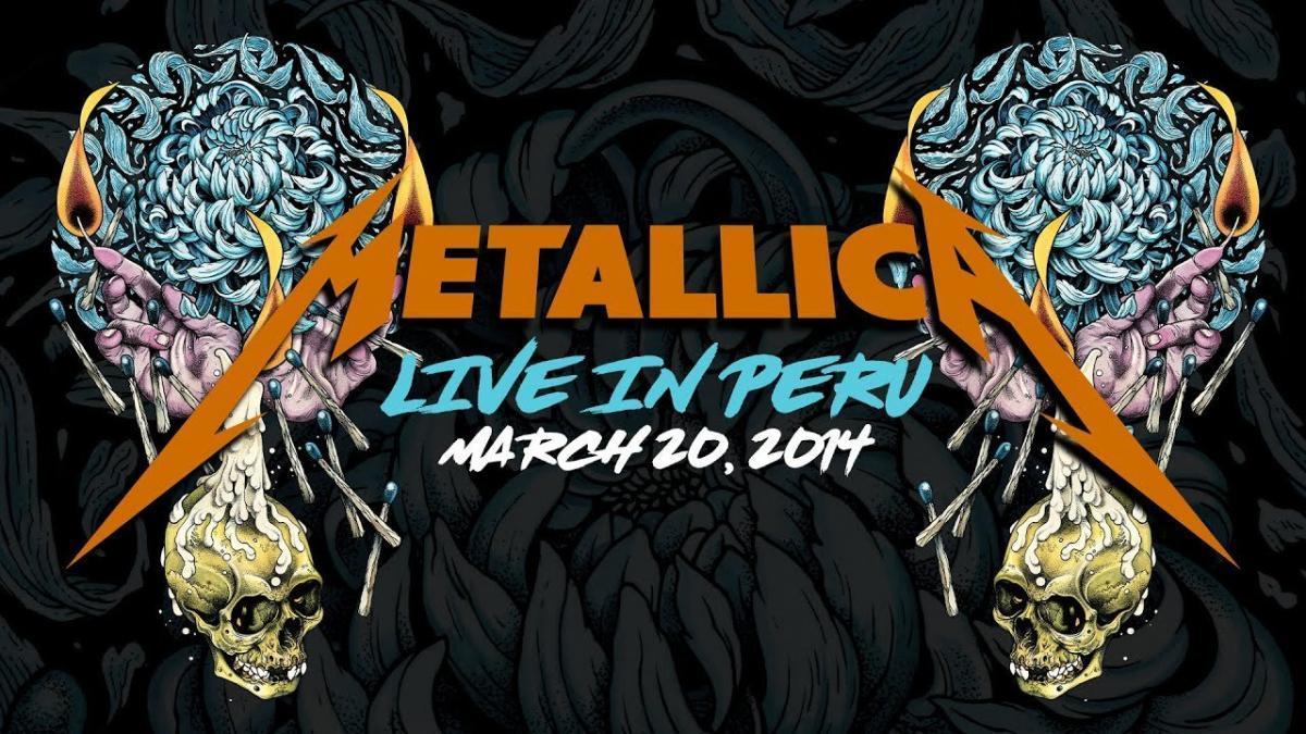 Metallica va diffuser un concert de 2014 à Lima au Pérou cette nuit ! (#MetallicaMondays)