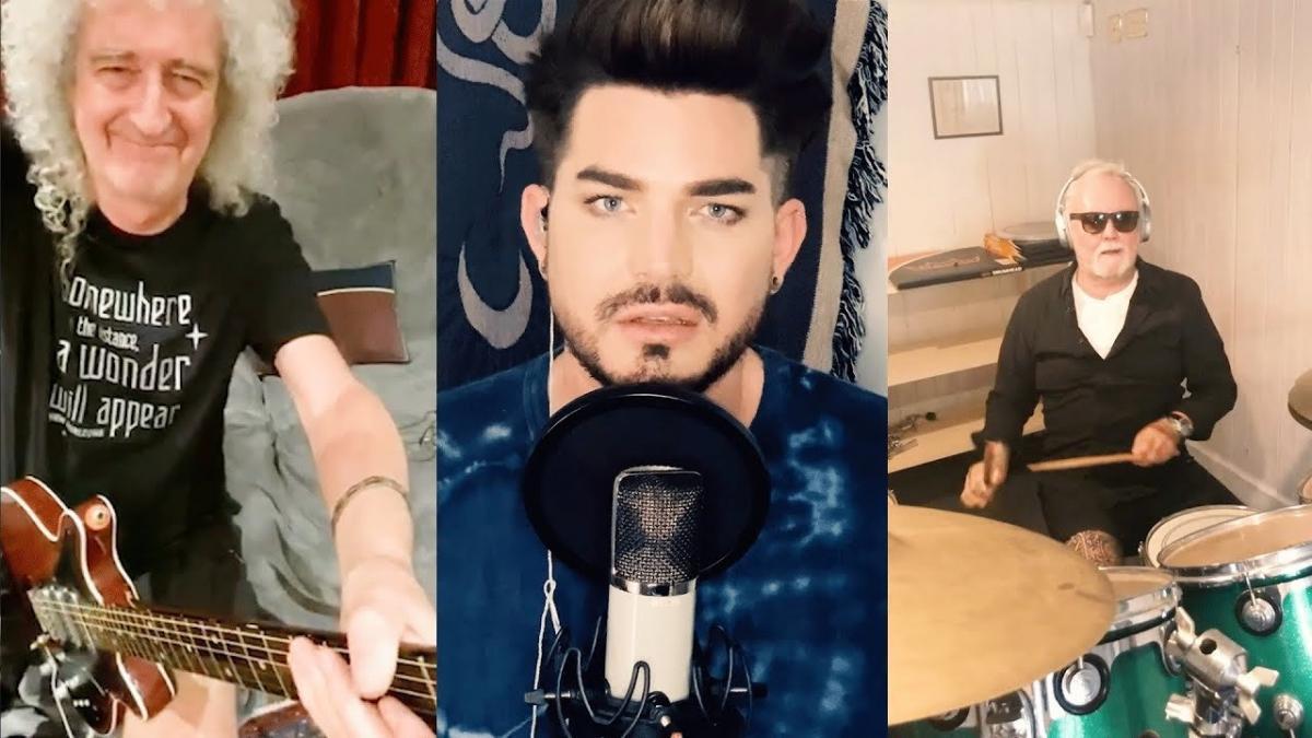 Queen + Adam Lambert sortent le single You Are The Champions pour contribuer au Fonds de solidarité COVID-19