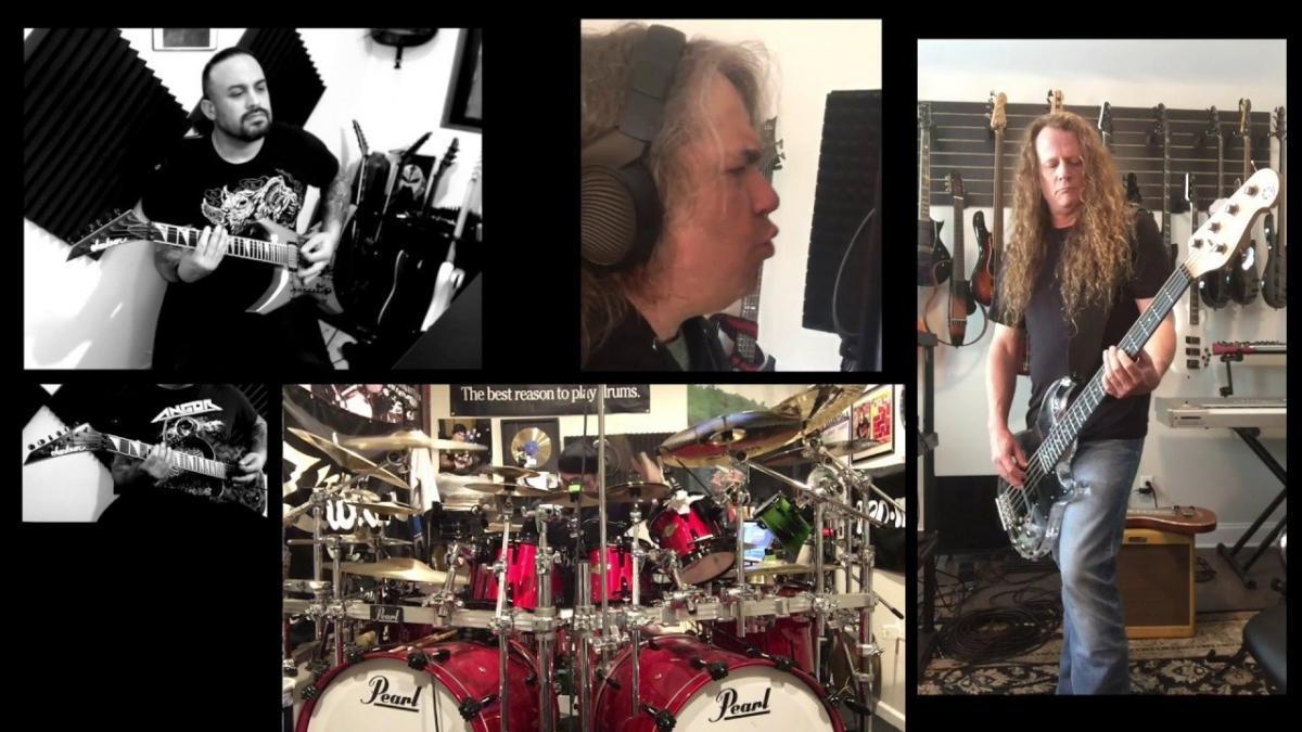 Des membres de Exodus et Overkill s'unissent pour réaliser une reprise de Megadeth