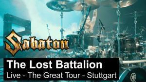 Sabaton publie une vidéo live de The Lost Battalion à Stuttgart