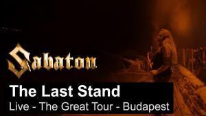 Sabaton publie une vidéo live de The Last Stand à Budapest
