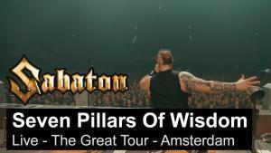 Sabaton sort une vidéo live de Seven Pillars Of Wisdom à Amsterdam