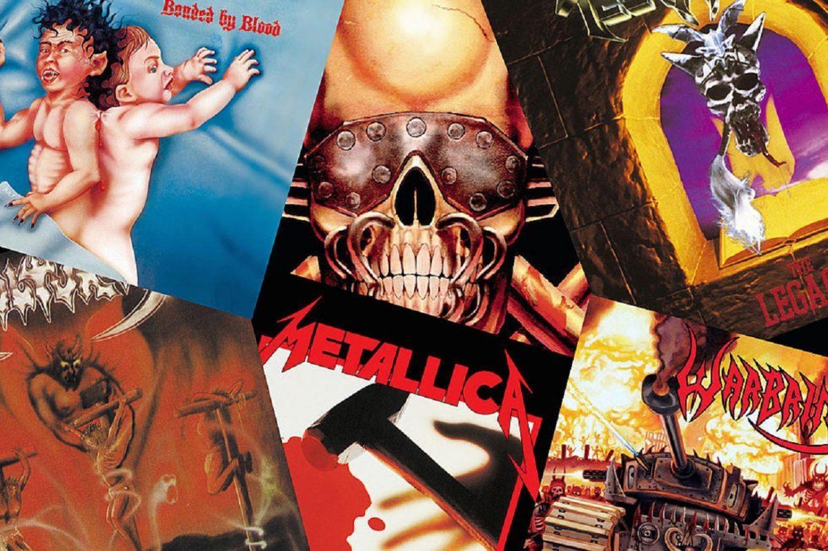 Les 40 meilleurs premiers albums de Thrash Metal de tous les temps