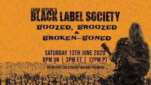 Black Label Society partage son live nommé Boozed, Broozed and Broken Boned !