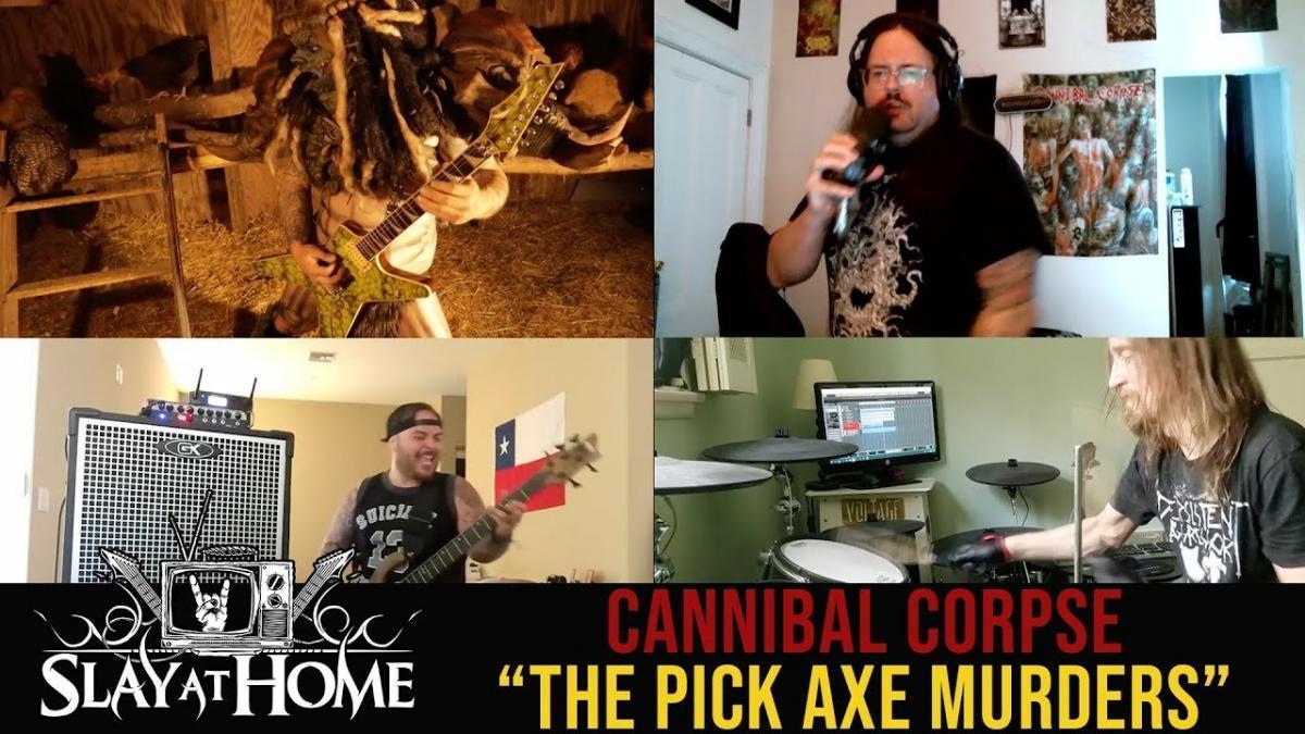 Cannibal Corpse repris par des membres de Megadeth, The Black Dahlia Murder, Suicidal Tendencies et Gwar