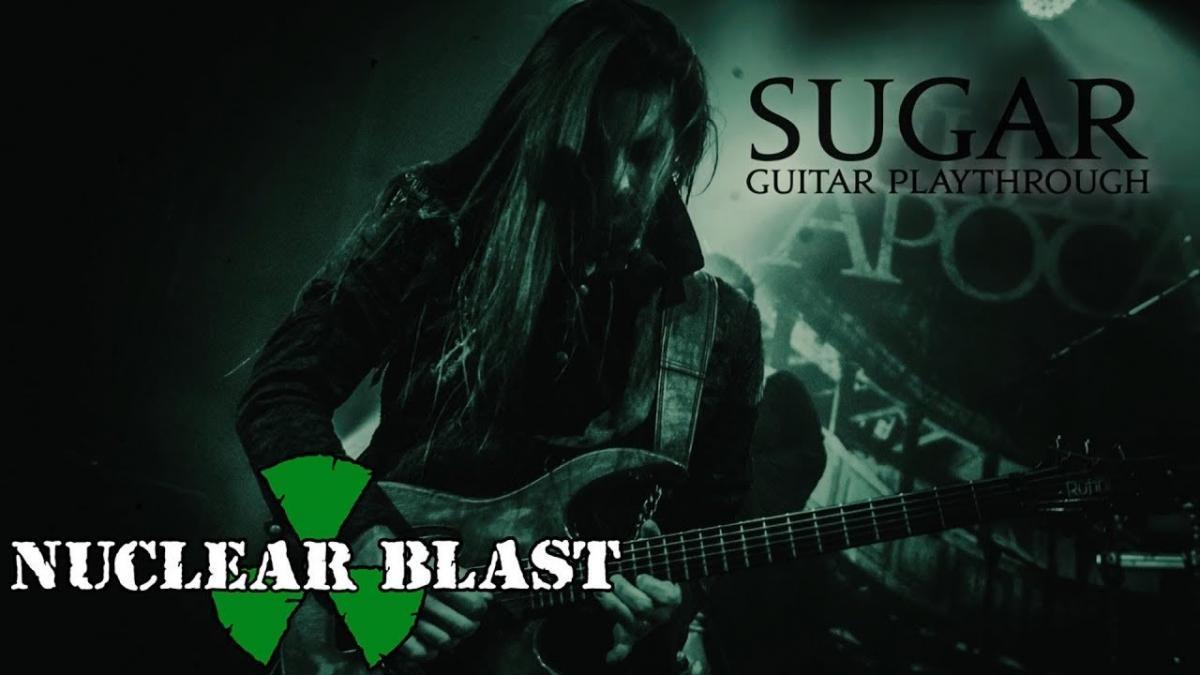 Regardez le guitariste de Fleshgod Apocalypse jouer Sugar
