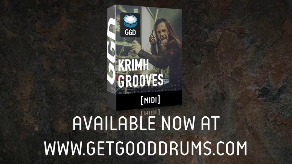 GetGood Drums s'associe à Krimh pour créer une librairie de grooves Metal !