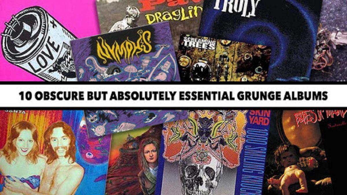 10 albums Grunge obscurs mais incontournables (Rock)