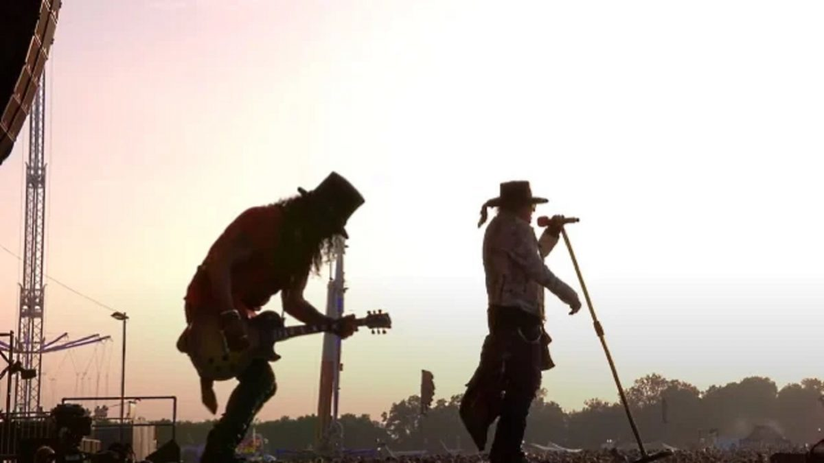 Regardez la performance de Guns N' Roses au Download Festival 2018 !