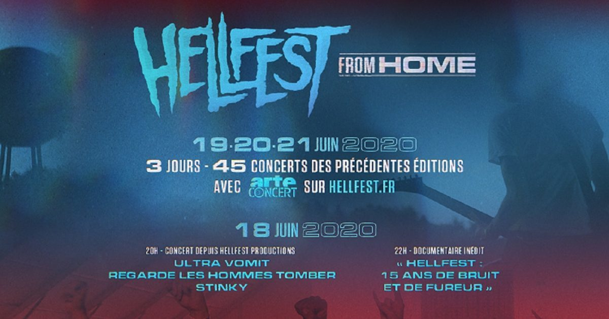 Regardez le Hellfest From Home !