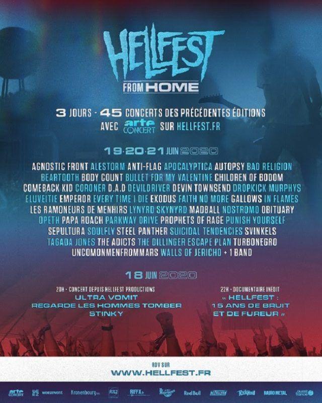 Découvrez les détails du Hellfest From Home !