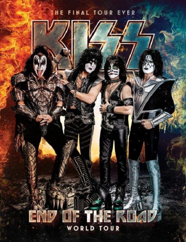 Kiss reporte officiellement les dates de sa tournée européenne de l'été 2020