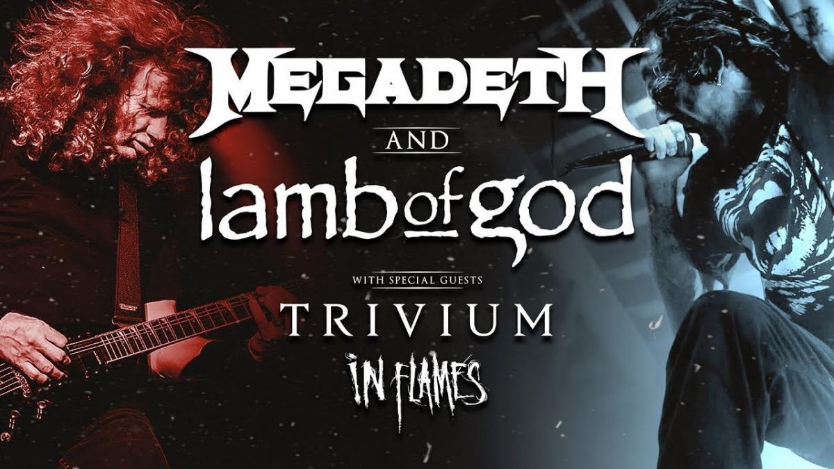 Regardez les concerts de Megadeth, Lamb of God, Trivium & In Flames dans le cadre du Metal Stream Of The Year !