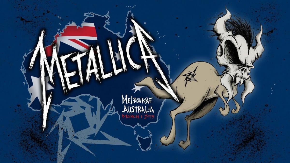 Metallica va diffuser un concert de 2013 en Australie cette nuit ! (#MetallicaMondays)