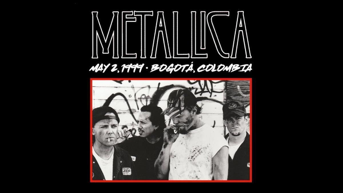 Metallica va diffuser un concert de 1999 à Bogota avec 3 rappels cette nuit ! (#MetallicaMondays)